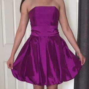 Forever 21 Dresses - Retro Purple Poofy Forever 21 Dress Size S